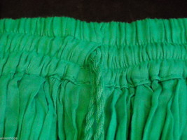Peasant Style Skirt in Teal with Elastic Waistband image 7