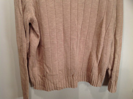 Paul Fredrick Size Medium Big Collar Brown Sweater Excellent Condition image 9