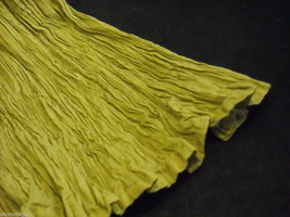 Peasant Style Skirt in Olive with Elastic Waistband image 6