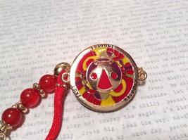 Mandala Ladybug Red Beads Marcella Bracelet Love Fortune Balance Gold Tone  image 3