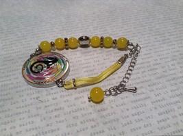 Mandala Seahorse Yellow Beads Marcella Bracelet Generous Persistence Vision image 5