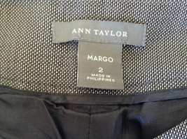 Margo Dress Pants by Ann Taylor Patterned Inside Lining Size 2 image 8