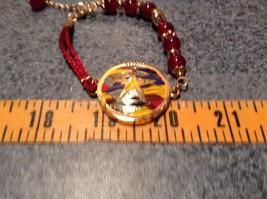 Mandala Starfish Violet Beads Marcella Bracelet Gold Tone Spirit Hope Glow image 6