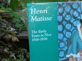 Matted Poster Reproduction The Early Years in Nice by Henri Matisse image 4