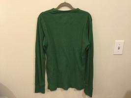 Mens American Eagle Green White Eagle design cotton long sleeve T-shirt, Size M image 4