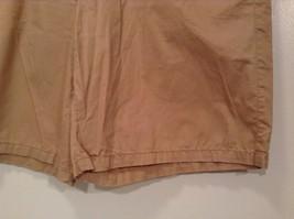 Merona 100 Percent Cotton Size 16 Sand Colored Casual Shorts Light Fabric image 3
