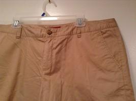 Merona 100 Percent Cotton Size 16 Sand Colored Casual Shorts Light Fabric image 2