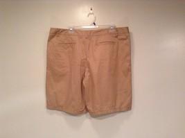 Merona 100 Percent Cotton Size 16 Sand Colored Casual Shorts Light Fabric image 5