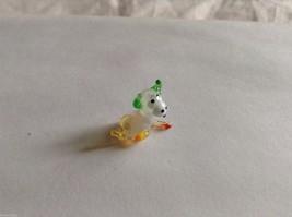 Micro Miniature small hand blown glass made USA NIB Bull w rough tail image 4