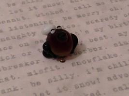 Micro miniature hand blown glass figurine Potato Head USA NIB image 3