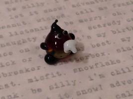 Micro miniature hand blown glass figurine Potato Head USA NIB image 5