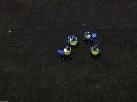 Micro miniature small hand blown glass blue yellow bluebird made in USA  NIB image 10