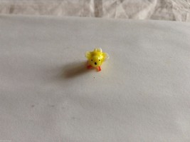 Micro miniature small hand blown glass yellow bird finch or canary USA made image 8