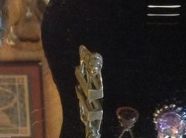 Miniature Bronze hand made artisan cast Lion image 6