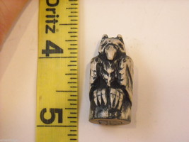 Miniature Hand Carved Bird of Prey image 7