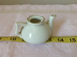 Miniature Teapot with Lid Canada RCMP Decorative Item White image 4