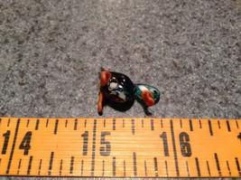Miniature small hand blown glass blue duck made USA NIB image 7