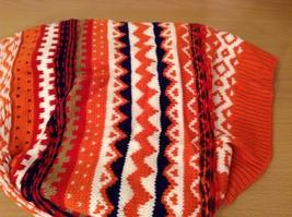 Mini Nordic infinity scarf hood warm cozy color choice blue orange green pink image 4