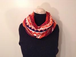 Mini Nordic infinity scarf hood warm cozy color choice blue orange green pink image 2