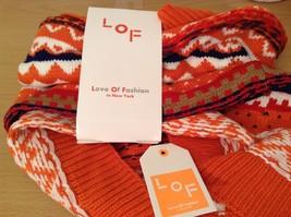 Mini Nordic infinity scarf hood warm cozy color choice blue orange green pink image 5