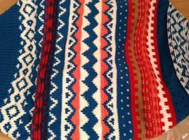 Mini Nordic infinity scarf hood warm cozy color choice blue orange green pink image 9