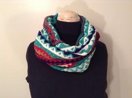 Mini Nordic infinity scarf hood warm cozy color choice blue orange green pink image 12