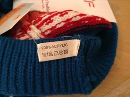 Mini Nordic infinity scarf hood warm cozy color choice blue orange green pink image 11