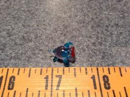 Miniature small hand blown glass light blue piglet  made USA NIB image 7