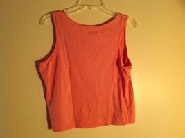 Moondance Pink Tank Top Wide Neckline Shirt Size Large image 4