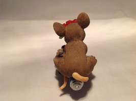 Mouse Sitting on Shovel Charming Tails Figurine Bloom Wherever You're Planted image 7