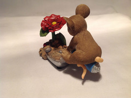 Mouse Sitting on Shovel Charming Tails Figurine Bloom Wherever You're Planted image 8