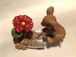 Mouse Sitting on Shovel Charming Tails Figurine Bloom Wherever You're Planted image 10
