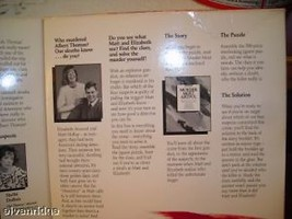Murder Mystery Jigsaw puzzle and book image 4