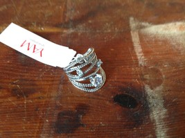 Multiband CZ Stackers Intricate Handcrafted 925 Sterling Silver Ring Size 7 OR 8 image 7