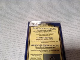 NEW House of Marbles Madmans Maze Metal Puzzle Remove The Ring image 5