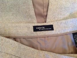 NEW Valerie by Valerie Stevens Beige Light Brown Pattern Maxi Skirt Size 16 image 7