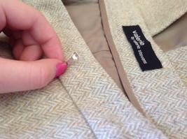NEW Valerie by Valerie Stevens Beige Light Brown Pattern Maxi Skirt Size 16 image 8