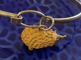 NEW bangle bracelet w Hedgehog Charm choice of color USA made image 10