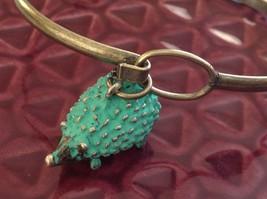 NEW bangle bracelet w Hedgehog Charm choice of color USA made image 9