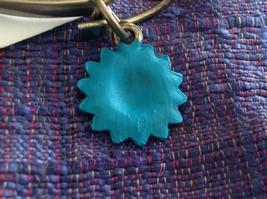 NEW bangle bracelet w Sunflower Charm choice of color USA made image 10