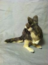 Native Australian brown Kangaroo Animal Figurine - recycled rabbit fur image 6