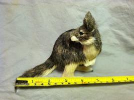 Native Australian brown Kangaroo Animal Figurine - recycled rabbit fur image 7