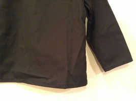 NEW with Tags Black Uniform Jacket Button Closure 4 Pockets on Front Size 16 image 7