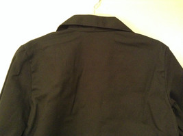 NEW with Tags Black Uniform Jacket Button Closure 4 Pockets on Front Size 16 image 6