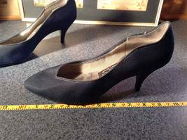 Nadine Blue High Heel Shoes Size 8.5 Excellent Condition See Pictures image 7