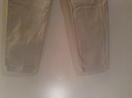 Natural White 100 Percent Cotton FRESNO Jeans Size 8 Average High Waist image 6