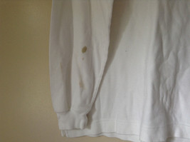 Nautica Medium White Long Sleeve Turtleneck Shirt Measurements Below image 4