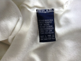 Nautica Medium White Long Sleeve Turtleneck Shirt Measurements Below image 9
