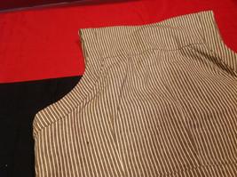 Pretty Larry Levine Ladies Brown Cream Colored Vest Size Large image 10
