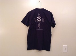 Navy Blue Short Sleeve Graphic T Shirt International Day of Compassion Size L image 2